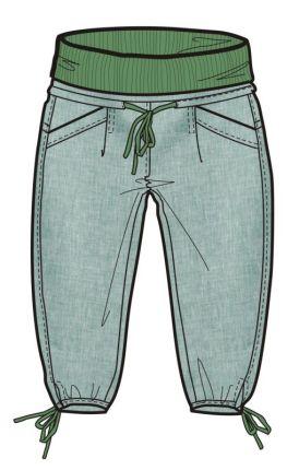 3/4 kalhoty  URTICA ME03