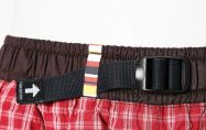 Dětské plátěné kalhoty KIDS MOTH K181/U49