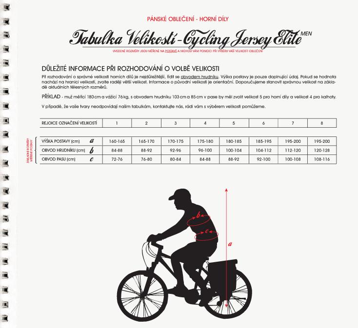 CYCLING JERSEY ELITE - MEN