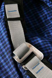 Plátěné kalhoty Rumex K217/U02 - záplata černá