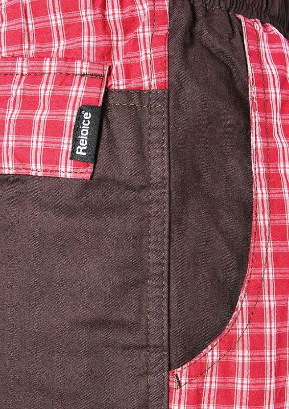 Plátěné kalhoty UNISEX MOTH - K181 U49  cdf77f9011