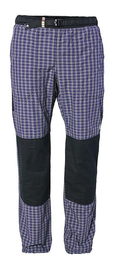 adc3b02e6bc Plátěné kalhoty UNISEX MOTH - K206 U02 - barva fialovo modrá ...