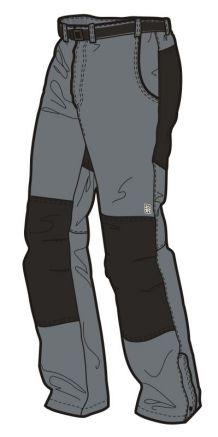 Kalhoty s podšívkou UNISEX CANYON U09/U02