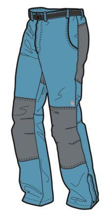Kalhoty s podšívkou UNISEX CANYON U17/U09