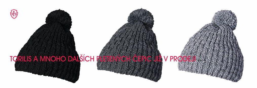 nové čepice